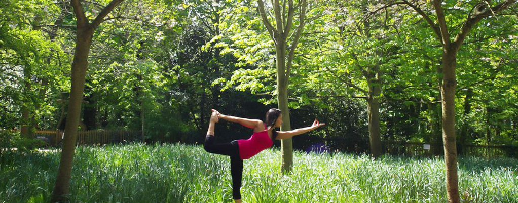 Yoga in Regents Park